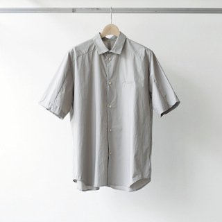 Dulcamara / short yoke sleeve shirts (gray)
