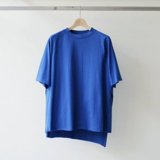 THEE / apron S/S (blue)