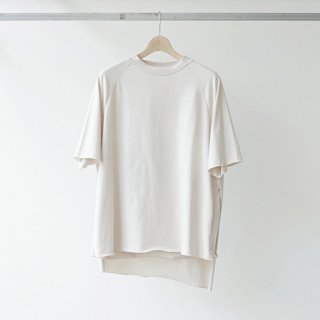 THEE / apron S/S (beige)