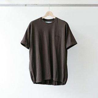 Dulcamara / balloon tee (brown)
