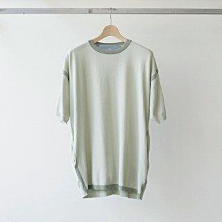 Dulcamara / アウトラインサマーニットPO (pale green)
