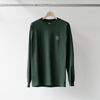 MY LOADS ARE LIGHT / FOREST CAMPLong Sleeve T-shirt