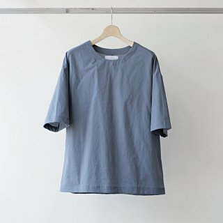 THEE / oversize TEE (BLUE GRAY)