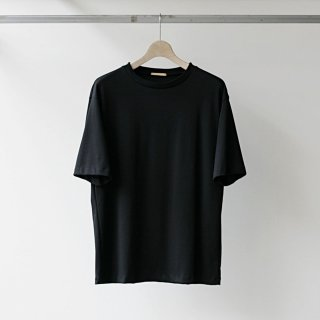 LAMOND - SUVIN COTTON S/S (BLACK)
