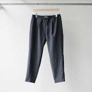 LAMOND / THICK&THIN EASY PANTS (CHAMBRAY BLACK)
