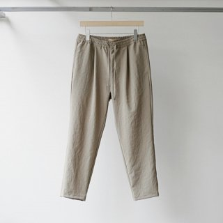 LAMOND / THICK&THIN EASY PANTS (BEIGE)