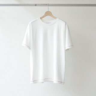 THEE - stitching tee (white)