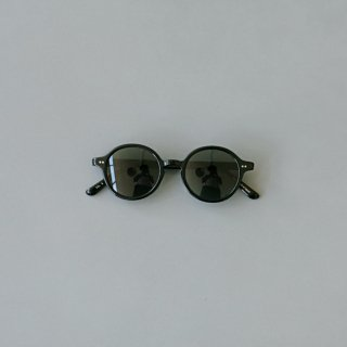 kearny - round (moss green sunglasses)