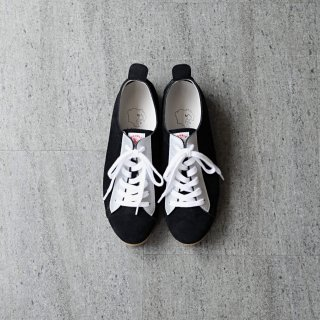 <img class='new_mark_img1' src='https://img.shop-pro.jp/img/new/icons54.gif' style='border:none;display:inline;margin:0px;padding:0px;width:auto;' />DOUBLE FOOT WEAR - Hermann Bright (black × silver)