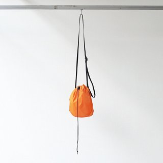 20/80 - RIP STOP NYLON HALF CIRCLE SHOULDER BAG (ORANGE)
