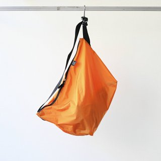 20/80 - RIP STOP NYLON MESSENGER BAG (ORANGE)