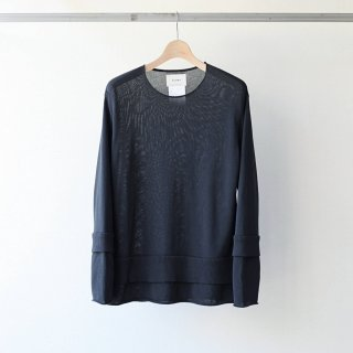 SOUMO - UNSYSTEMATIC RIB KNIT (CHARCOAL)