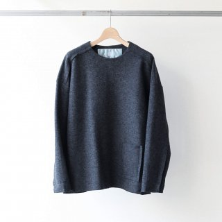 Dulcamara - カットオフウールPO (Charcoal Gray)