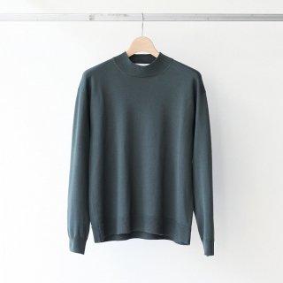 <img class='new_mark_img1' src='https://img.shop-pro.jp/img/new/icons54.gif' style='border:none;display:inline;margin:0px;padding:0px;width:auto;' />bunt - 12G MOCK NECK SWEATER (khaki)