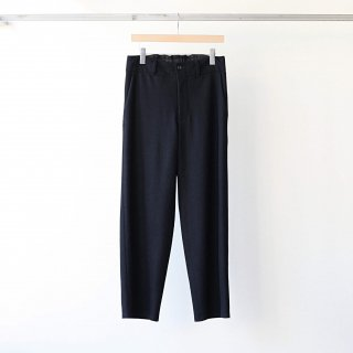 THEE - wool jersey Hi waist slacks (black)