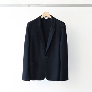 THEE - wool jersey jacket (black)