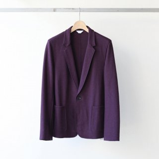 THEE - wool jersey jacket (purple)