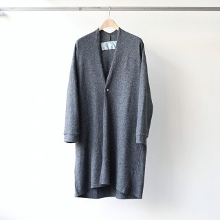 Dulcamara - アンゴラ天竺ガウン (Charcoal Gray)
