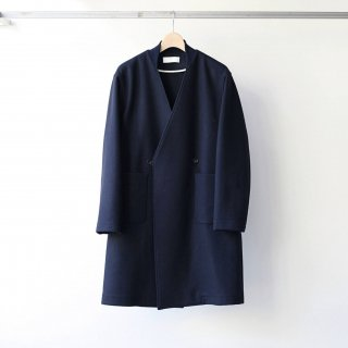 bunt - GOWN COAT (NAVY)