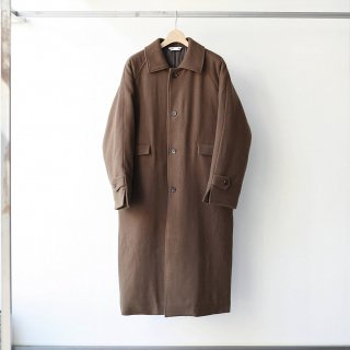 foof - super 100's balcollar futon coat (brown)