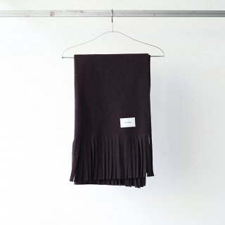 SOUMO - TASSEL STOLE (DARK BROWN)