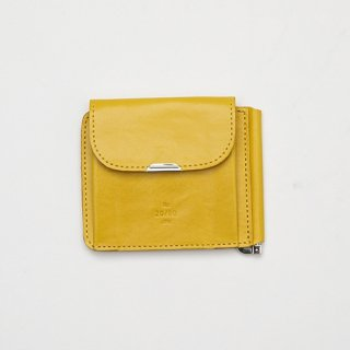 20/80 - KIP LEATHER CLIP WALLET (YELLOW)