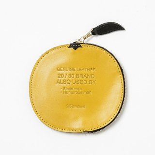 20/80 - KIP LEATHER GRAPEFRUIT COIN PURSE