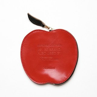 20/80 - KIP LEATHER APPLE COIN PURSE (RED)