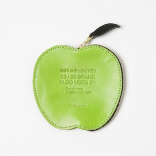 20/80 - KIP LEATHER APPLE COIN PURSE (GREEN)