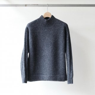 bunt - GGF ALPAKA SWEATER (CHARCOAL)