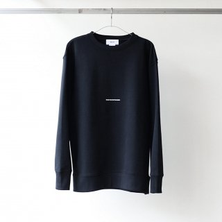 BREATHE. (ever so soft) - INSTRUCTION CREW SWEAT 'THANK YOU FOR THE MUSIC' (BLACK)