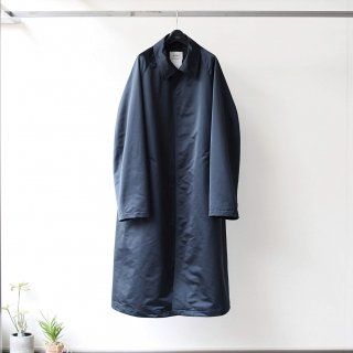 SOUMO - STRAPED BALMACAAN COAT (DARK NAVY)