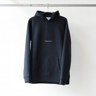 BREATHE. (ever so soft) - INSTRUCTION SWEAT HOODIE 'DRESSING' (BLACK)
