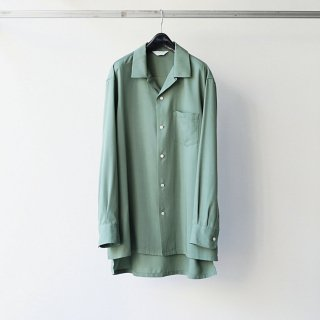 THEE - open collar shirts (GREEN)