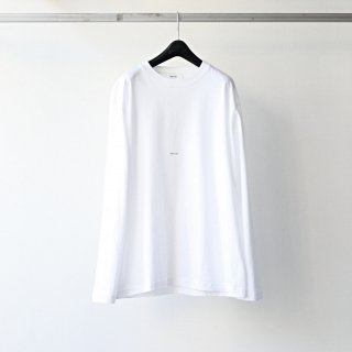 BREATHE. (ever so soft) - INSTRUCTION LS TEE 'INTRO' (WHITE)