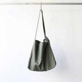 BREATHE. (ever so soft) - INSTRUCTION RING SHOULDER BAG (KHAKI)
