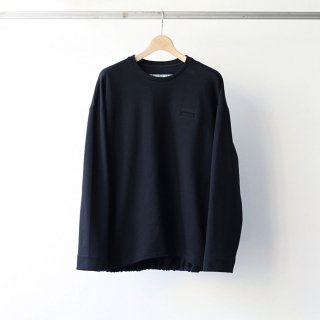 Dulcamara - SW切替バルーンロンT (Black / Navy)