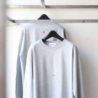 BREATHE. (ever so soft) - INSTRUCTION LS TEE 'BOHEMIAN' (GRAY)
