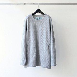 Dulcamara - ワッフルドルマンロンT (Gray)