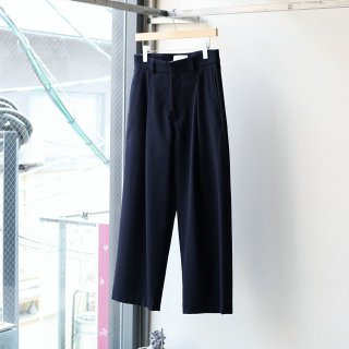 <img class='new_mark_img1' src='https://img.shop-pro.jp/img/new/icons54.gif' style='border:none;display:inline;margin:0px;padding:0px;width:auto;' />SOUMO - Oval Trousers (Dark Navy)