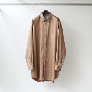 Dulcamara - トレンチシャツ-C (Light Brown)