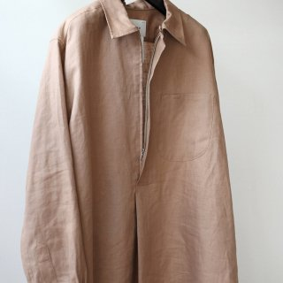 SOUMO - SKIPPER ZIP SHRTS LONG (HAZEL)