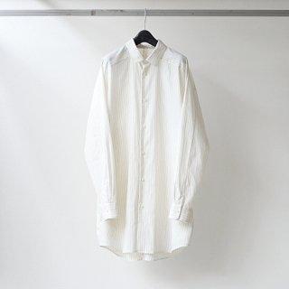 Dulcamara - ヨークスリーブシャツ-S (Off White / Blue)