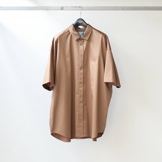 Dulcamara - Sスリーブトレンチシャツ-C (Light Brown)