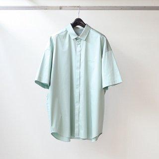 Dulcamara - Sスリーブトレンチシャツ-C (Aqua)
