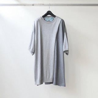 Dulcamara - レイヤードニットPO (Gray)