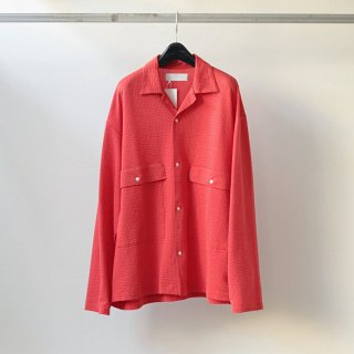 bunt - SS L/S BIG POCKET SHIRTS (RED)