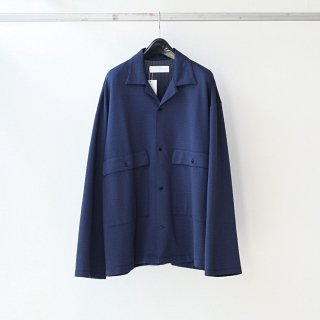 bunt - SS L/S BIG POCKET SHIRTS (NAVY)