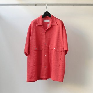 bunt - SS S/S BIG POCKET SHIRTS (RED)
