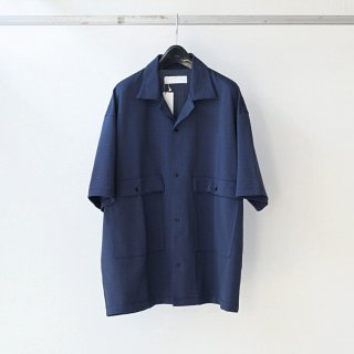 bunt - SS S/S BIG POCKET SHIRTS (NAVY)